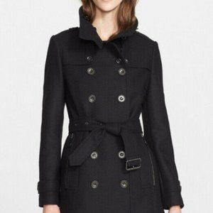 Daylesmoore Wool Double Breasted Trench Coat